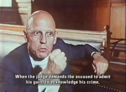 Ambiguous, but more ambiguous than Foucault?