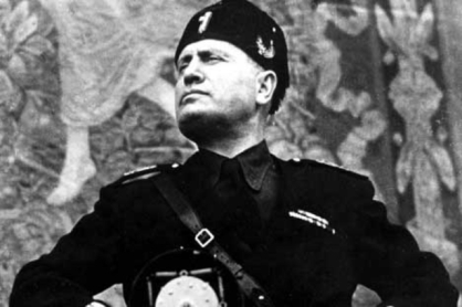Beware the Mussolini that is not Mussolini, the hidden Mussolini that is shadow-and-yet-light, fascist and yet not political, inscrutably pure and yet a source of vile contamination, for he is the Mussolini of the modern age.